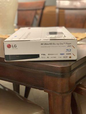 LG 4K Ultra HD Blu-Ray Disk for Sale in Deerfield Beach, FL