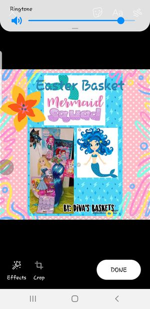 Mermaid Squad Easter Basket for Sale in Laredo, TX