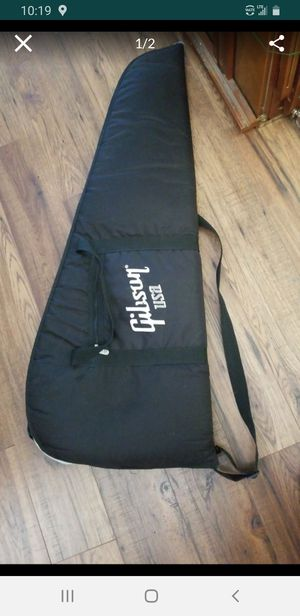 Guitar soft case ,,with back pack straps for Sale in Whittier, CA