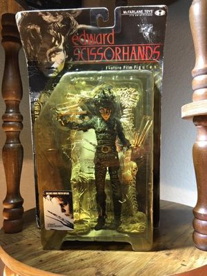 """New in the box. 7"""" Edward Scissorshands Mc Farlane Movie Maniac 3 Action Featured Film Figure. for Sale in Leander, TX"""