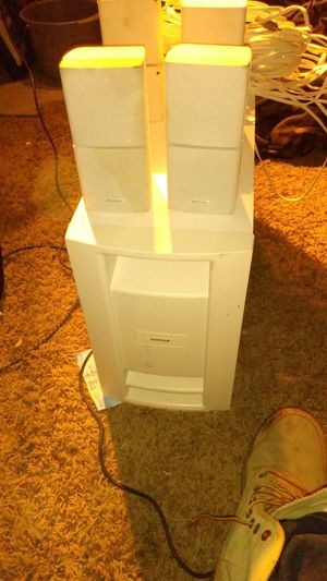 Bose surround sound ps28 3 speakers for Sale in Las Vegas, NV