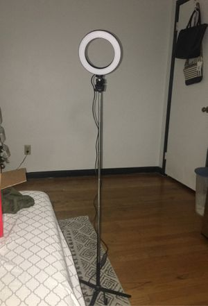6* ring light w/ stand for Sale in Clarkston, GA