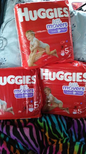 Huggies size 5 for Sale in Keizer, OR