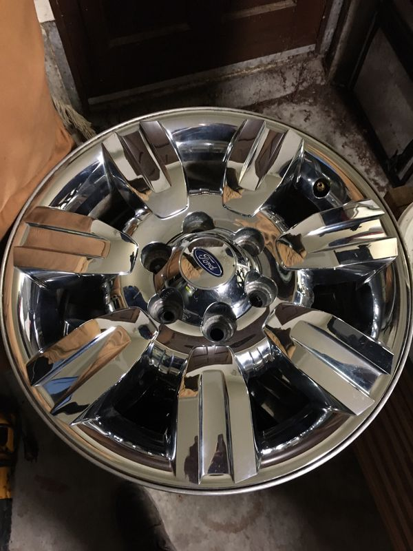 18 in. Chrome rims