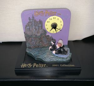 2001 Collection Harry Potter miniature clock for Sale in Alamogordo, NM