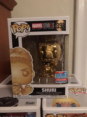 Shuri Gold Chrome Funko Pop *Black Panther* for Sale in Fort Lauderdale, FL