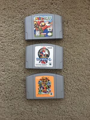 N64 Mario games for Sale in Newport News, VA