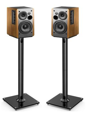 PERLESMITH Universal Floor Speaker Stands 26 Inch for Surround Sound, Klipsch, Sony, Edifier, Yamaha, Polk & Other Bookshelf Speakers Weight up to 22 for Sale in Las Vegas, NV