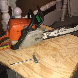 """20 """" Chainsaw -Stihl -ms290 for Sale in Greenville, TX"""