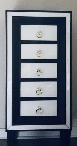 Tall 5 Drawer Accent Chest for Sale in Costa Mesa, CA