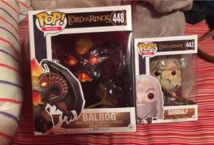 Lord of the rings funko pops for Sale in Riverside, CA