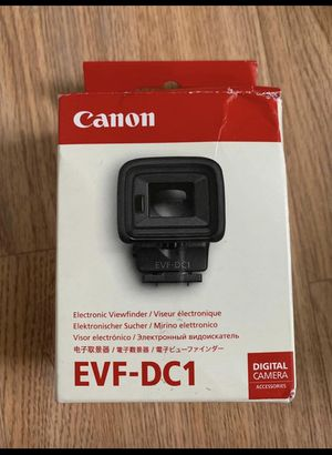 Canon Electronic Viewfinder for Sale in Dallas, TX