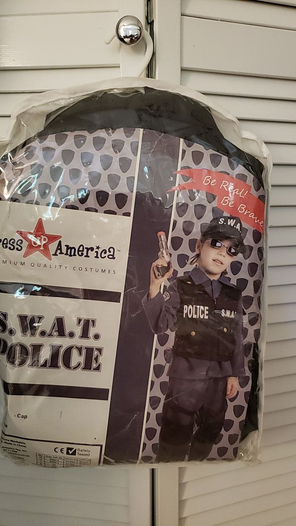 S.W.A.T. Police Halloween costume