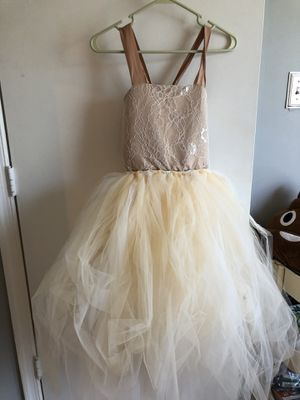 Flower girl Dress - Gold for Sale in Bowie, MD