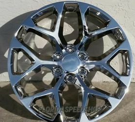 """Available in 22"""" and in 24"""" chevy gmc wheels 6 lug 6x139.7 for Sale in Hollywood,  FL"""