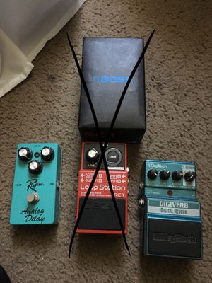 Reverb and delay pedal for Sale in Irwindale, CA