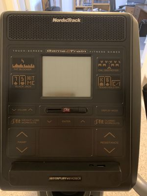 Nordictrack ASR700 Game and Train Elliptical for Sale in Colorado Springs, CO