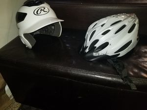 Youth Baseball and Bicycle Helmets for Sale in Potomac Falls, VA