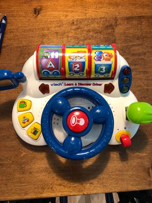 Vtech learn and discover driver baby and toddler toy for Sale in Woodinville, WA