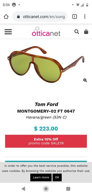 Tom ford sunglasses for Sale in Newark, OH