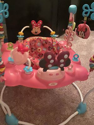 Baby bouncer Minnie Mouse $45 for Sale in Riverview, FL