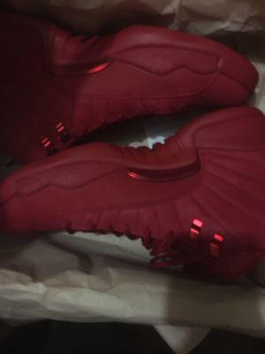 2018 All Red Jordan 12's *Size:10Men* for Sale in Houston, TX