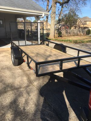 6 x 12 utility trailer. Brand new – never used for Sale in Suwanee, GA
