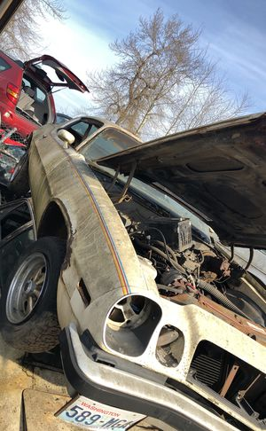 1977 Chevy camaro parting out for Sale in Kent, WA
