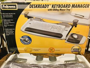 Fellowes Deskready Computer Keyboard Manager for Sale in Spring Hill, FL