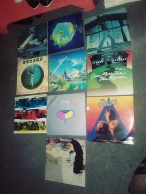 LOT OF 10 ROCK VYNLE ALBUMS for Sale in Philadelphia, PA