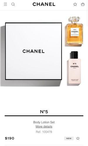 Chanel N'5 perfume set for Sale in Phoenix, AZ