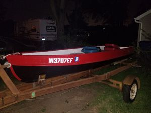 1957 Alumacraft 12ft fishing boat for Sale in Griffith, IN