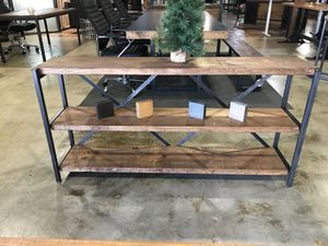 Industrial styled 3 shelving units for Sale in Dallas, TX
