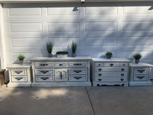 Bedroom Set, Dresser, Nightstands for Sale in Auburn, CA