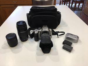 Canon EOS Rebel Digital Camera and Lenses for Sale in Roseville, CA