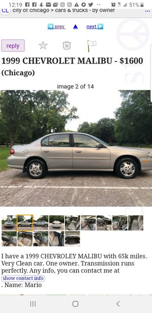 1999 Chevy Impala PARTS ONLY for Sale in Downers Grove, IL