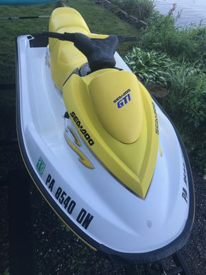 Jet ski Seadoo GTI with Trailer for Sale in Alexandria, VA