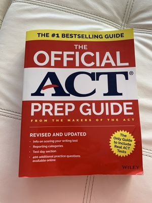 Book for ACT test for Sale in Sunny Isles Beach, FL