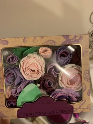 Scented rose soap petals for Sale in Hampton, VA
