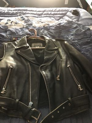 Youth large Indian Motorcycle leather jacket for Sale in Las Vegas, NV