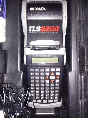 Brady TLS2200 Thermal Labeling System for Sale in Fort Washington, MD