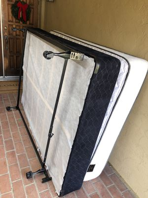 Mattress (Double) with Box Spring and Frame for Sale in San Diego, CA