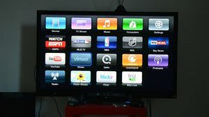 Apple TV generation 3 with remote hdmi and power cable for Sale in Denver, CO