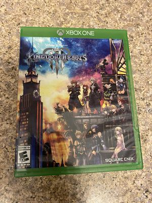 Kingdom Hearts 3 - Xbox one for Sale in Houston, TX