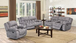 NEW, Recliner Sofa and Loveseat (Recliner Chair is not Included), SKU# ADA-grey for Sale in Westminster, CA