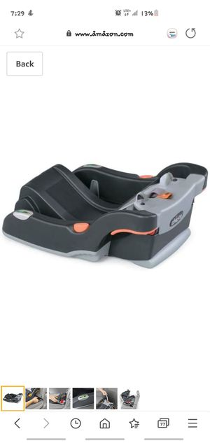 Chicco KeyFit Infant Car Seat Base, Anthracite/ Car Seat Base for Sale in Ontario, CA