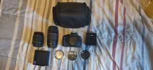 Canon Rebel T5/ EOS 1200D Bundle for Sale in Tacoma, WA