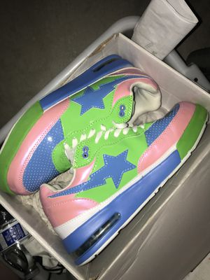 Bape shoes bapestas for Sale in Bay Point, CA