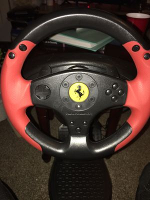 PS3 with racing wheel for Sale in Wellsboro, PA