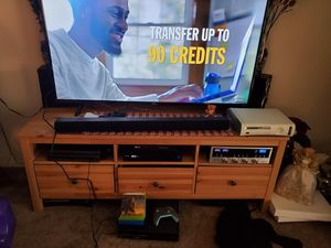 TV Stand Holds Up To 60 inch TV for Sale in Dundalk, MD